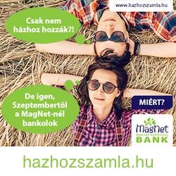 MagNet Bank házhozszámla
